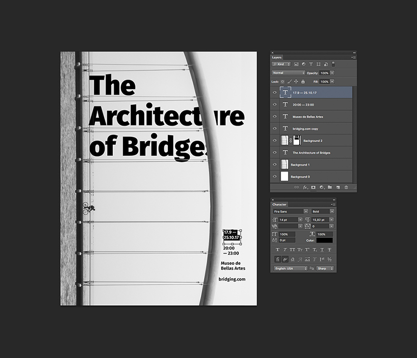 How to Use Layer Masks to Create a Bold Typography Poster in