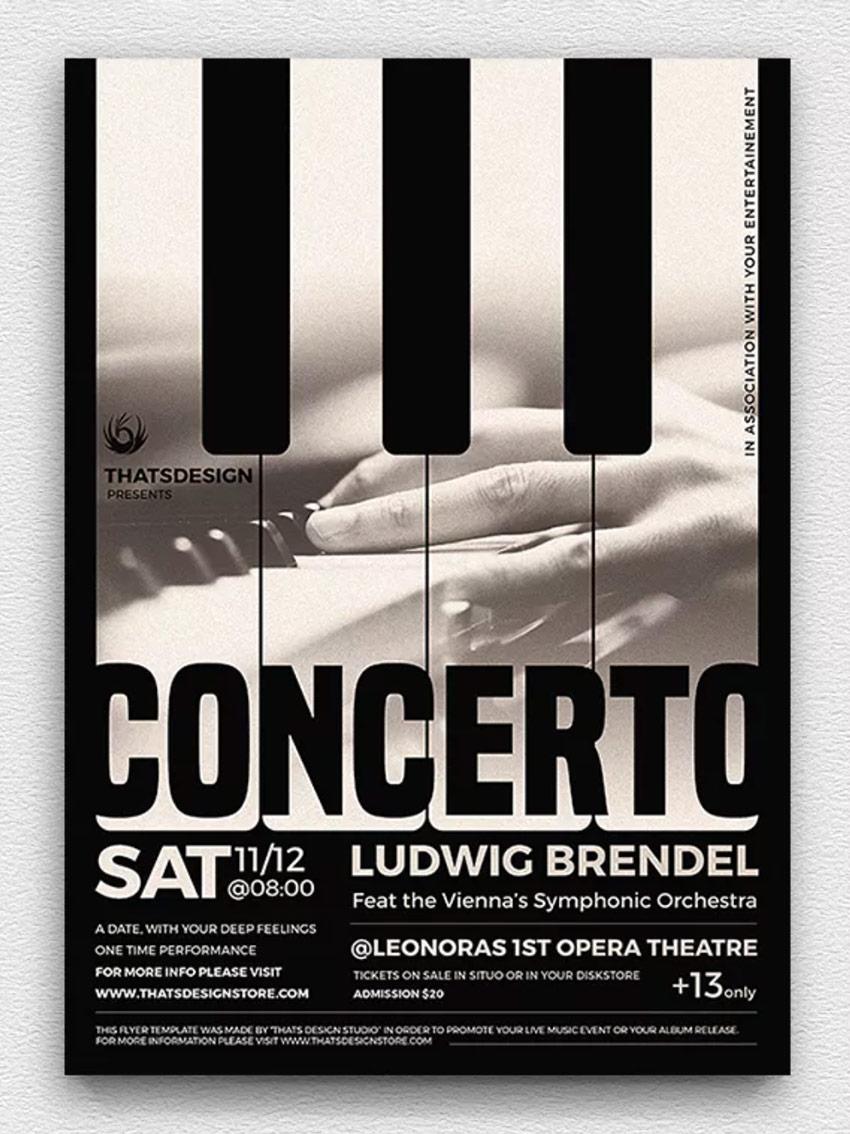 Concerto Poster