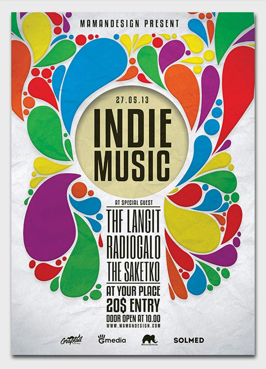 Indie Music Poster