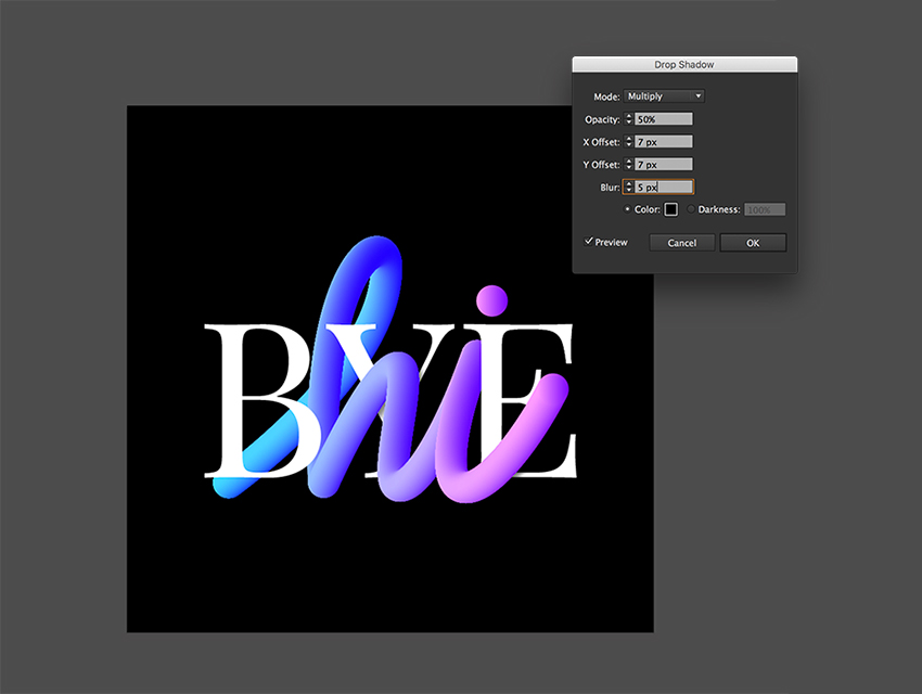 How to Use the Blend Tool for Lettering in Adobe Illustrator