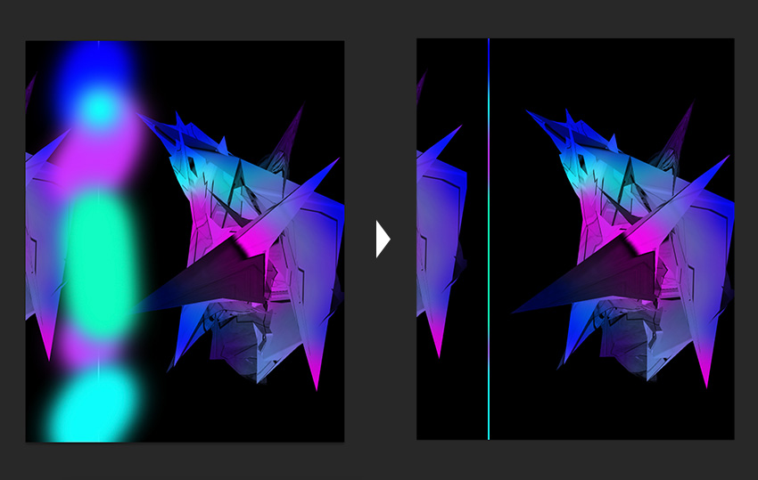 How to Create an Abstract Poster Using the Puppet Warp Tool in Adobe Photoshop