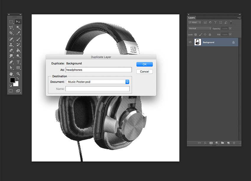 Unlock bmp in photoshop