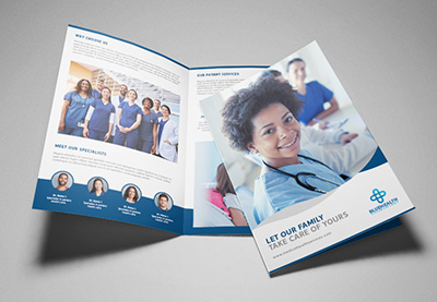 QnA VBage How to Make a Medical Brochure Template in InDesign