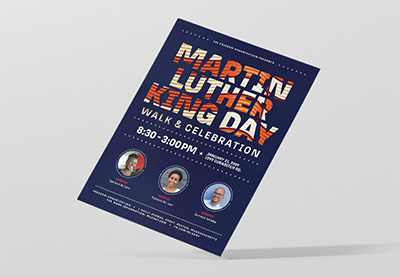 QnA VBage How to Make an Event Flyer for Martin Luther King Jr. Day