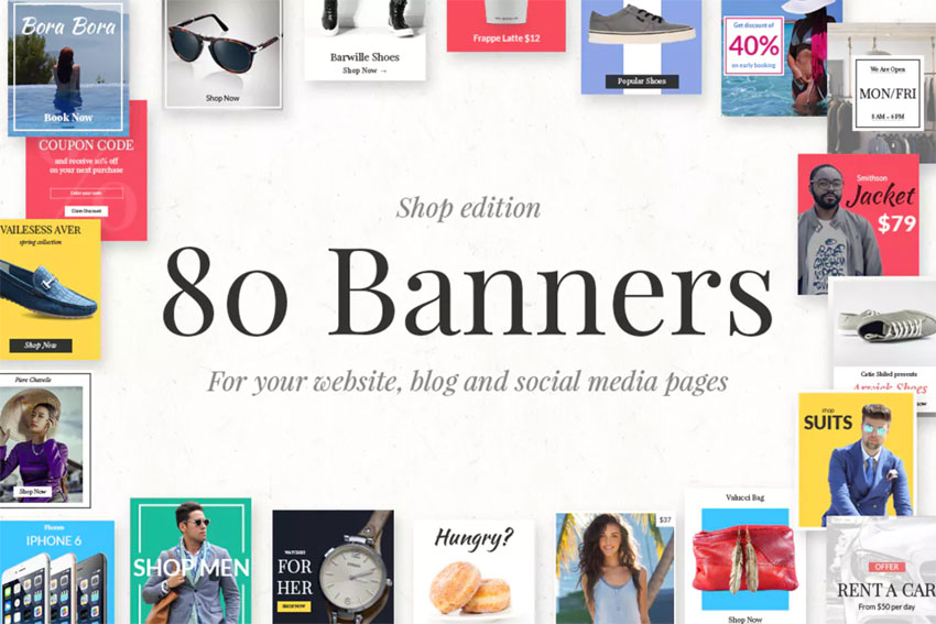 80s banners shop edition