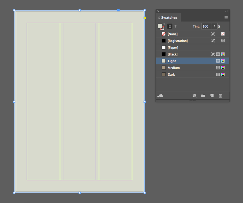 using the rectangle tool create a rectangle tool to cover the page