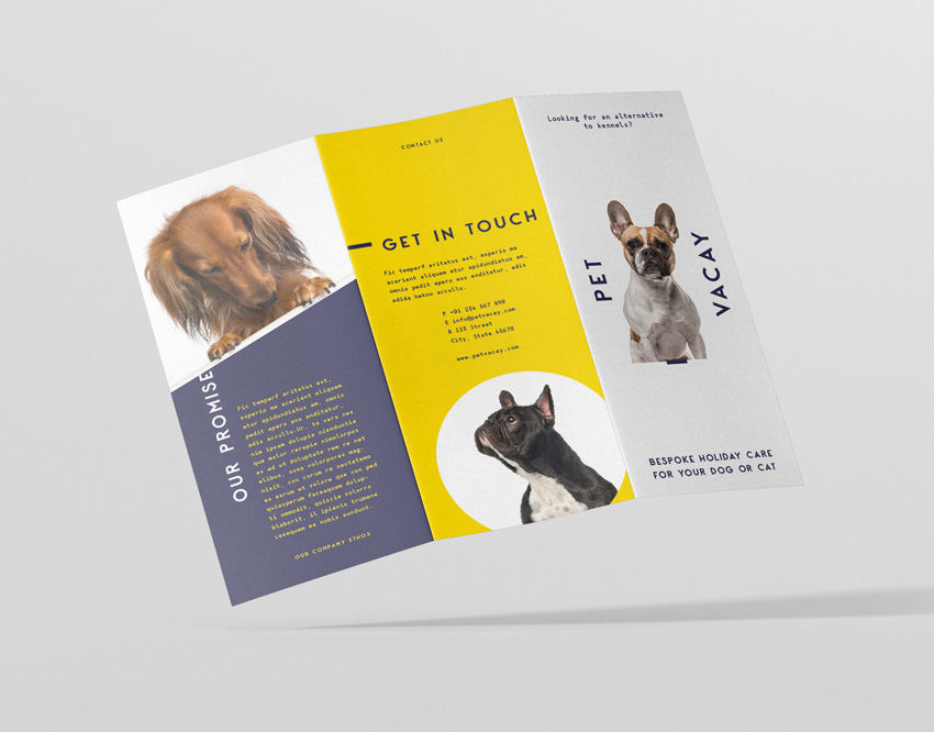How to Make a Brochure From an InDesign Template