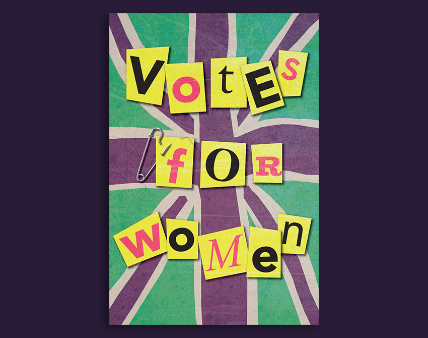 How to Create a Suffragette-Inspired Poster in Adobe InDesign 100Years