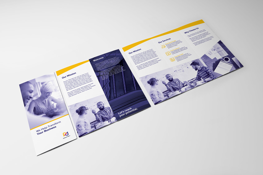 How to Make a Trifold Brochure Pamphlet Template