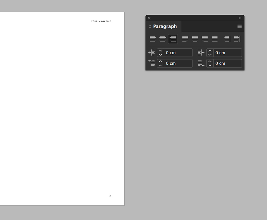 duplicate the elements onto the opposite page