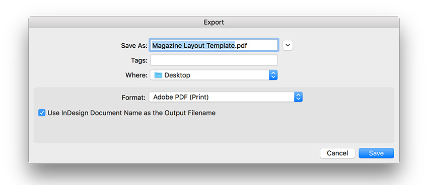 How to Create a Page Layout and Magazine Article Template in InDesign