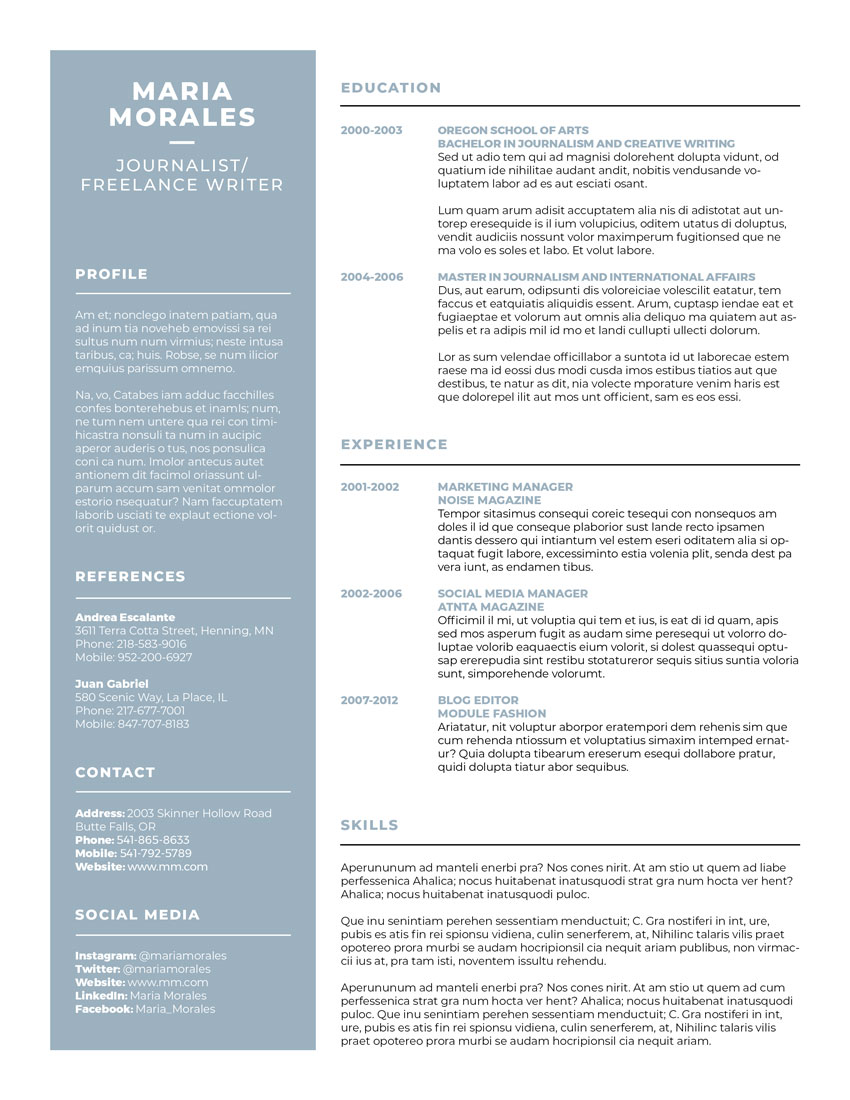 How to Make a Photoshop Resume