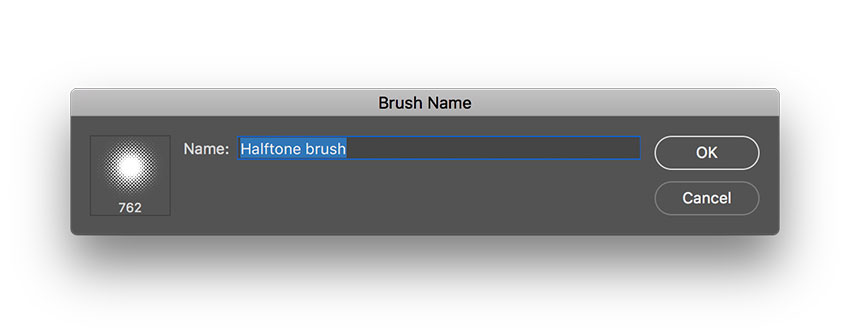 select the define brush preset option under edit to create a new brush