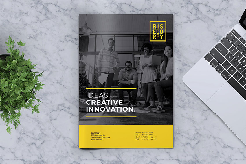 Creative Brochure Template Vol 40