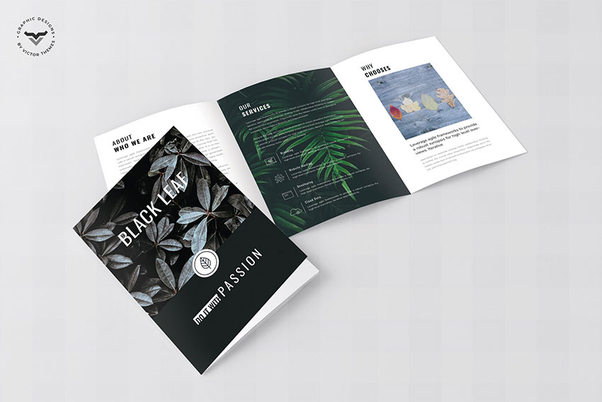 Minimal Business Tri-fold Brochure