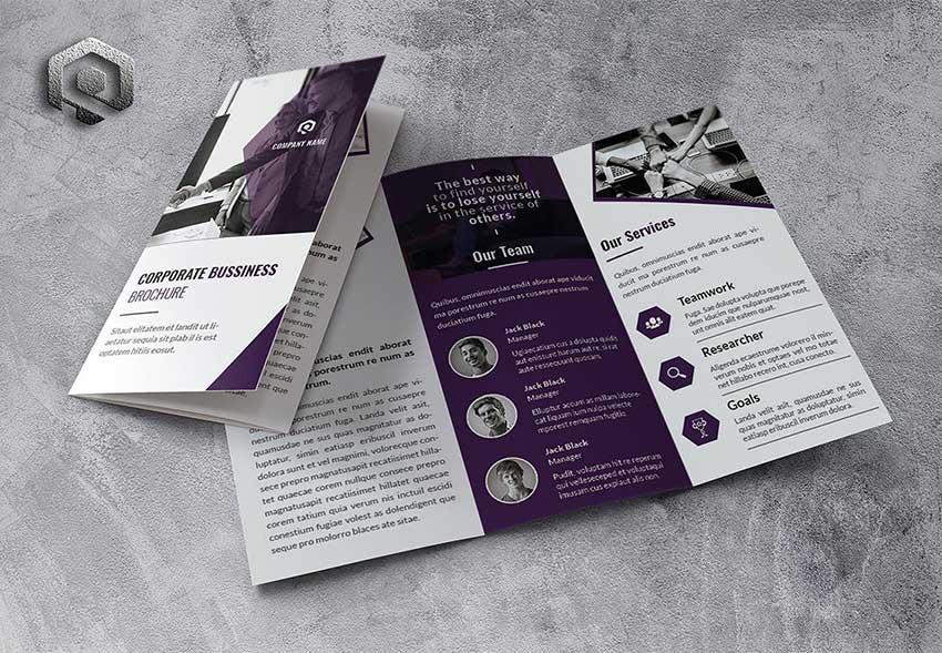 Trifold Brochure designers near me
