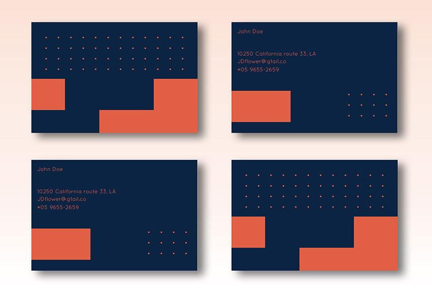 Corporative Business Card