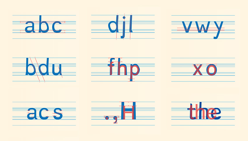 dyslexie is a dyslexia friendly font