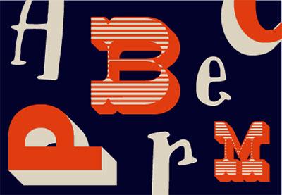 19 08 09 art the history of display fonts thumbnail thumbnails
