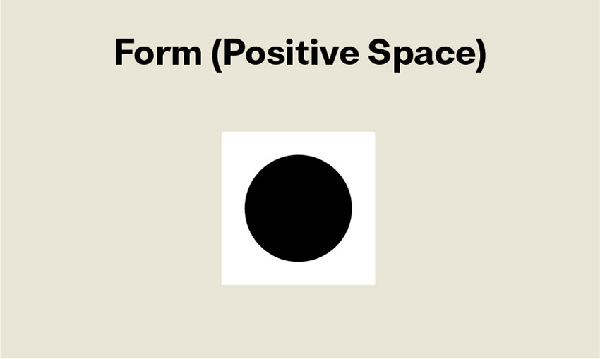 Elements of Design Form positive space