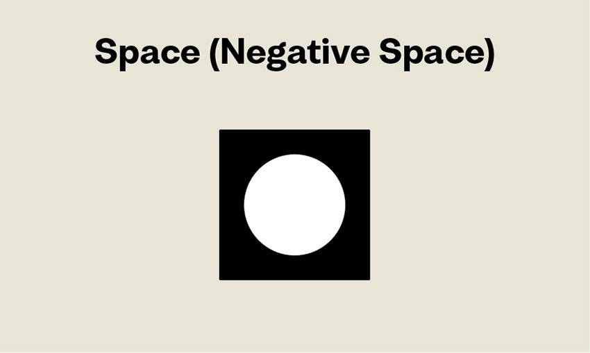 Elements of Design Space Negative Space