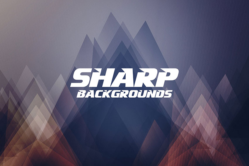 Abstract Sharp Background