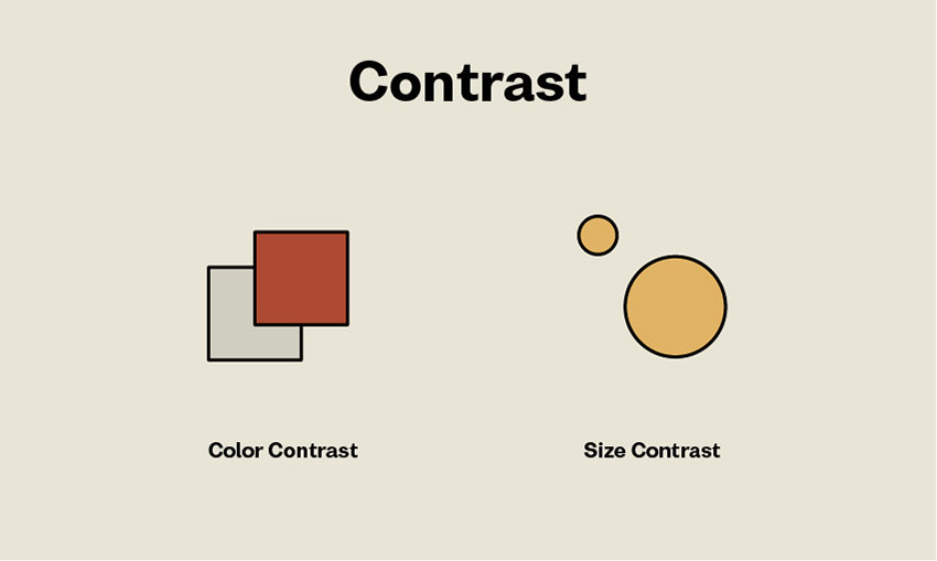 Principles of Design Contrast