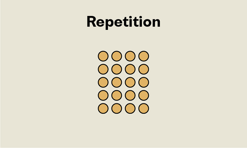 Principles of Design Repetition