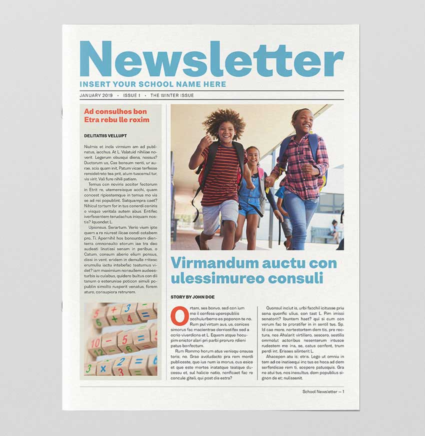 How to Create a School Newsletter Template in InDesign