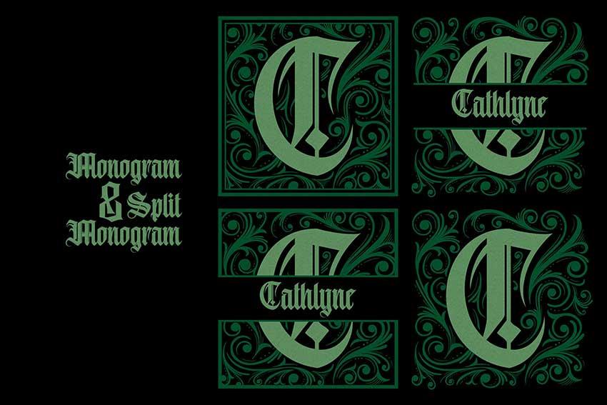 Monogram C - 2 letter monogram
