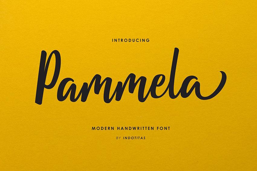 Pamela Script