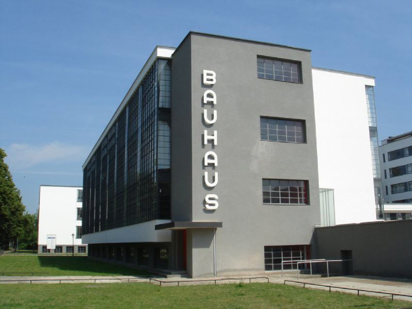 Futura History The Bauhaus School
