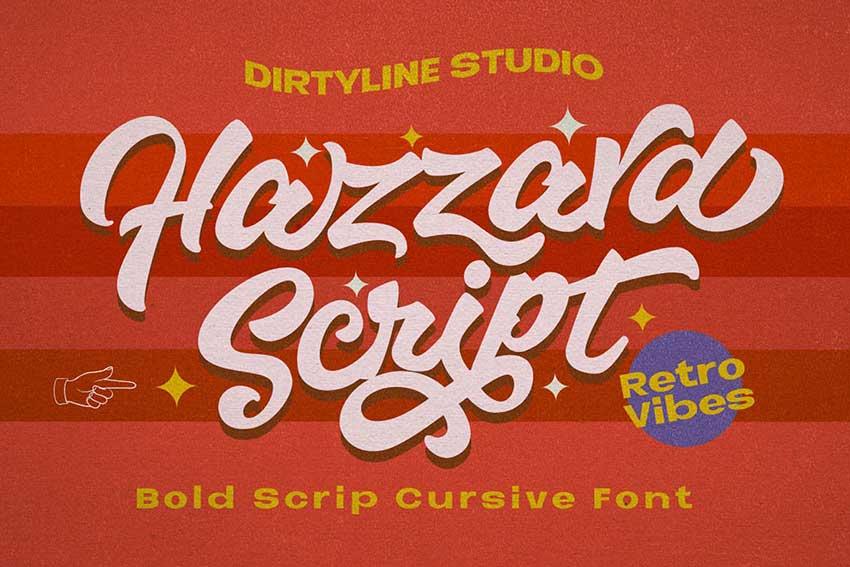 Font ligatures Hazzard