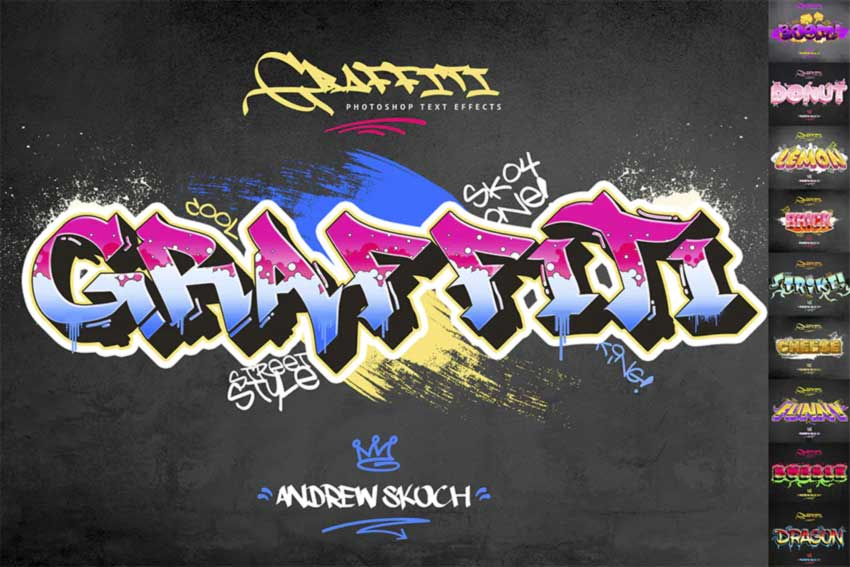 Graffiti Text Effects
