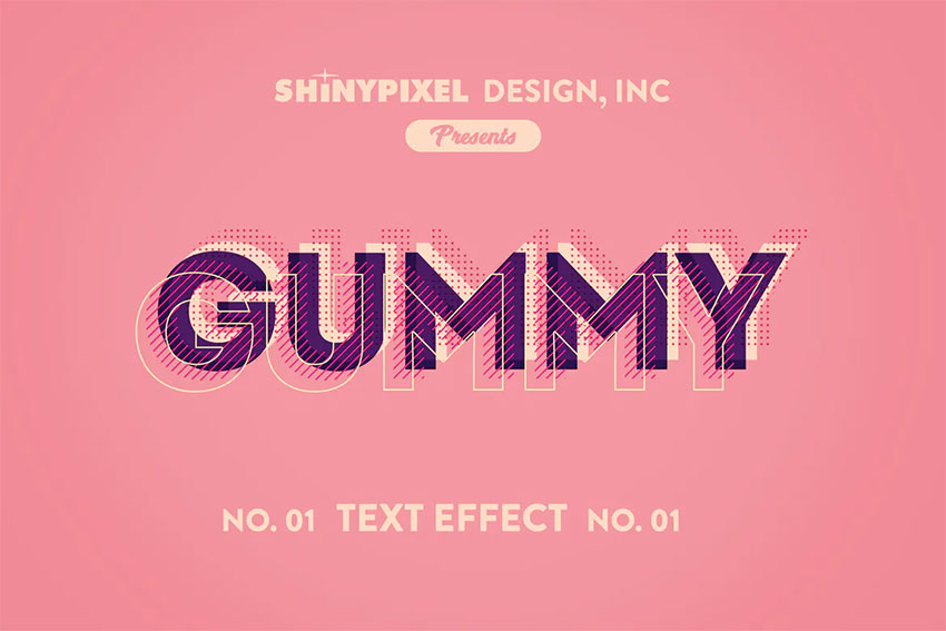 ShinyPixels Text Effect