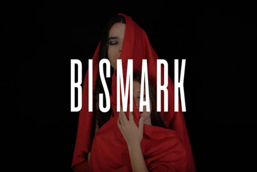 BISMARK Display Headline Logo Typeface
