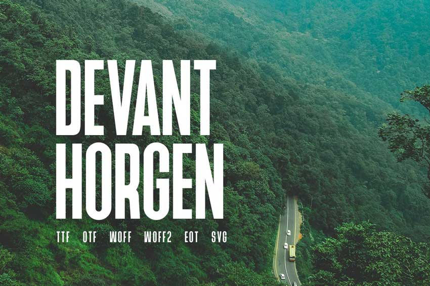Modern Typeface Font