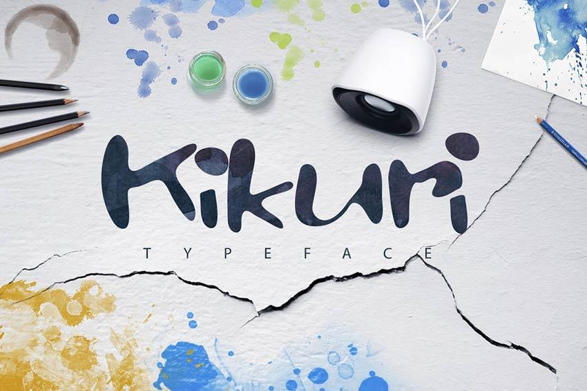 Kikuri Typeface