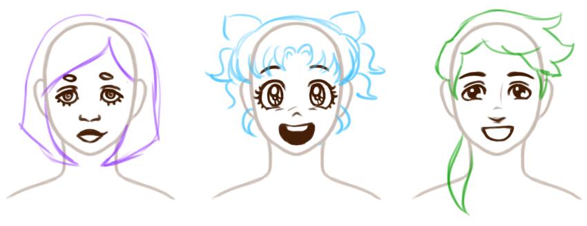 How To Draw Cartoon Eyes Javascript World