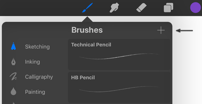 Example of New Brush Creation