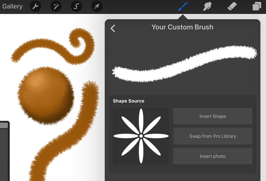 Example of Brush Created in this Tutorial