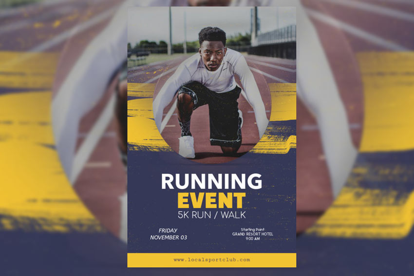 Flyer Maker for Running Events