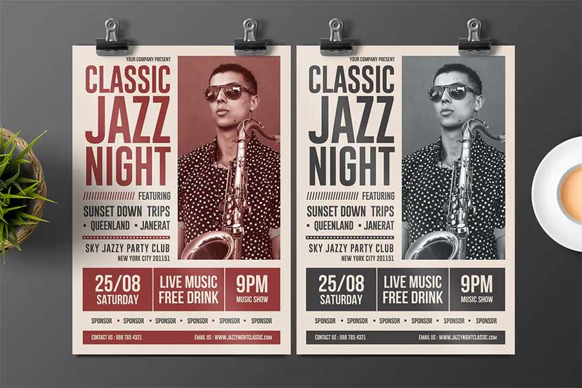 Jazz Flyer Design