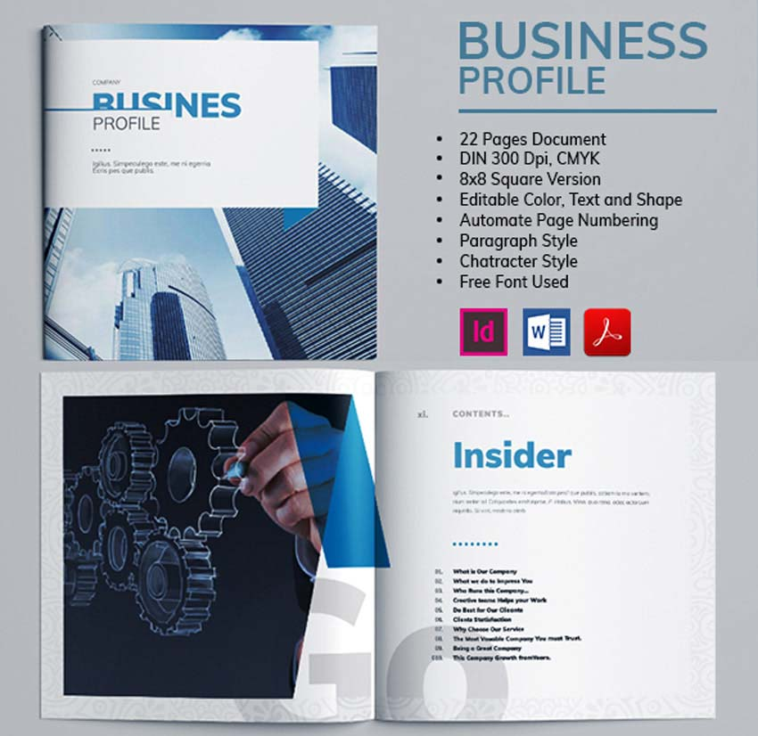 Business Profile Brochure