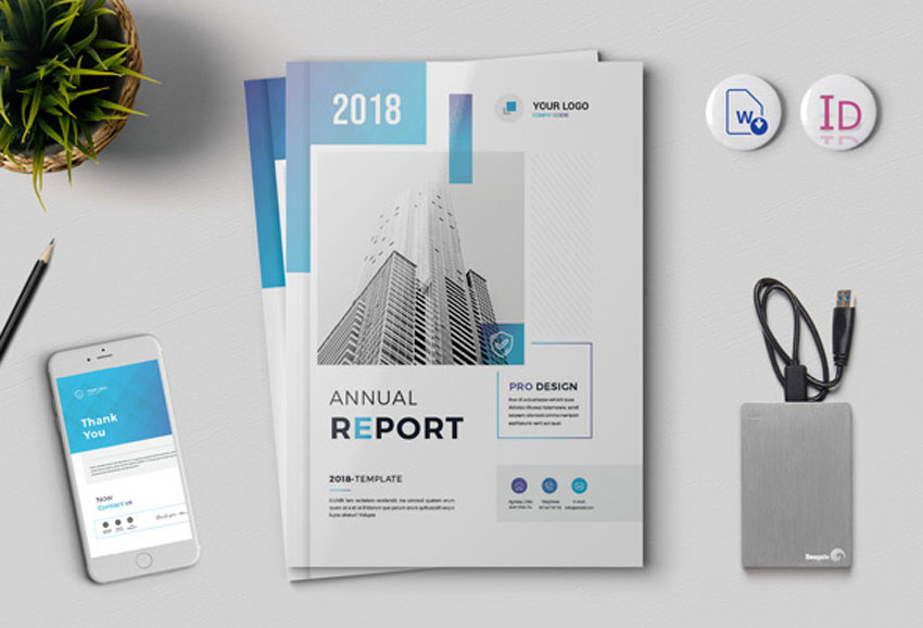 The Annual Report 18 Pages