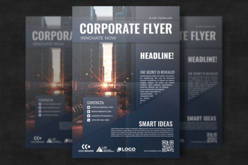 Corporate Brochure Template Design