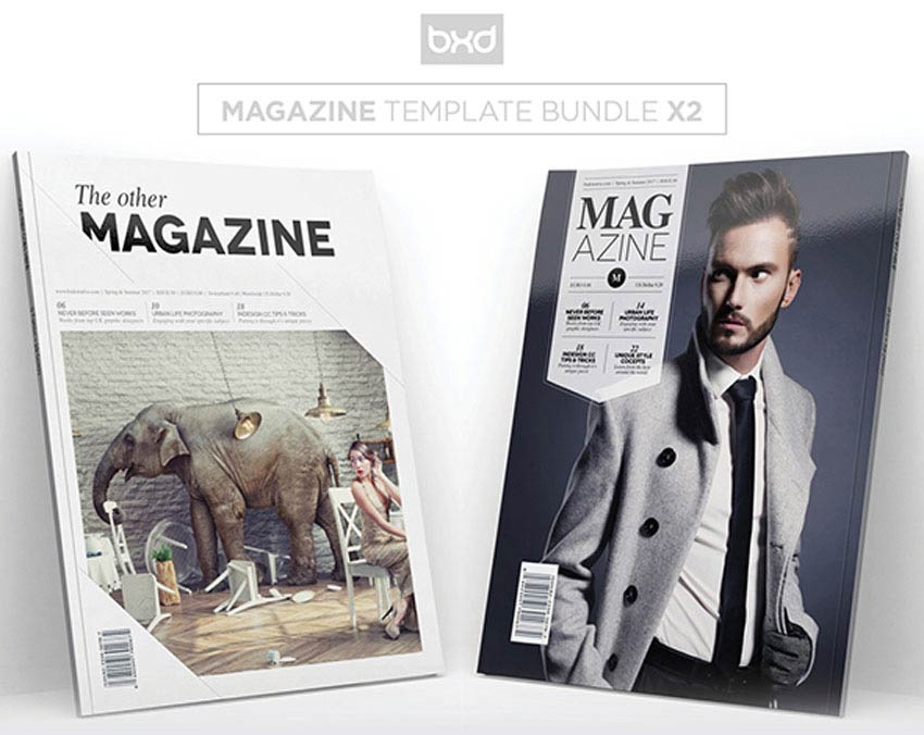 Magazine Template Bundle
