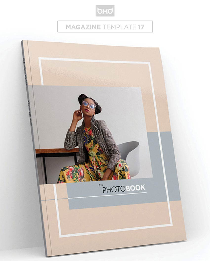 MagazineLookbook Template