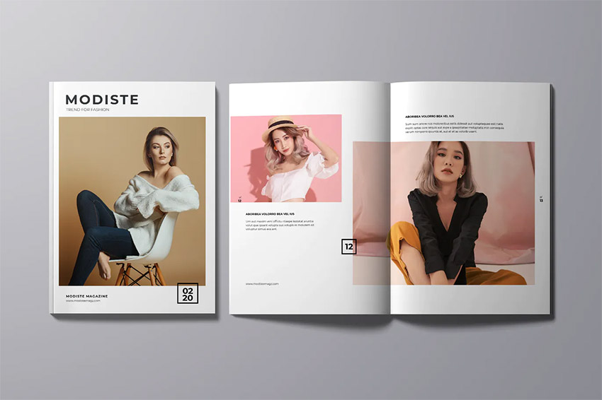 Stylish Magazine Template