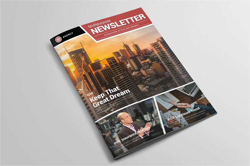 Multipurpose Newsletter Template